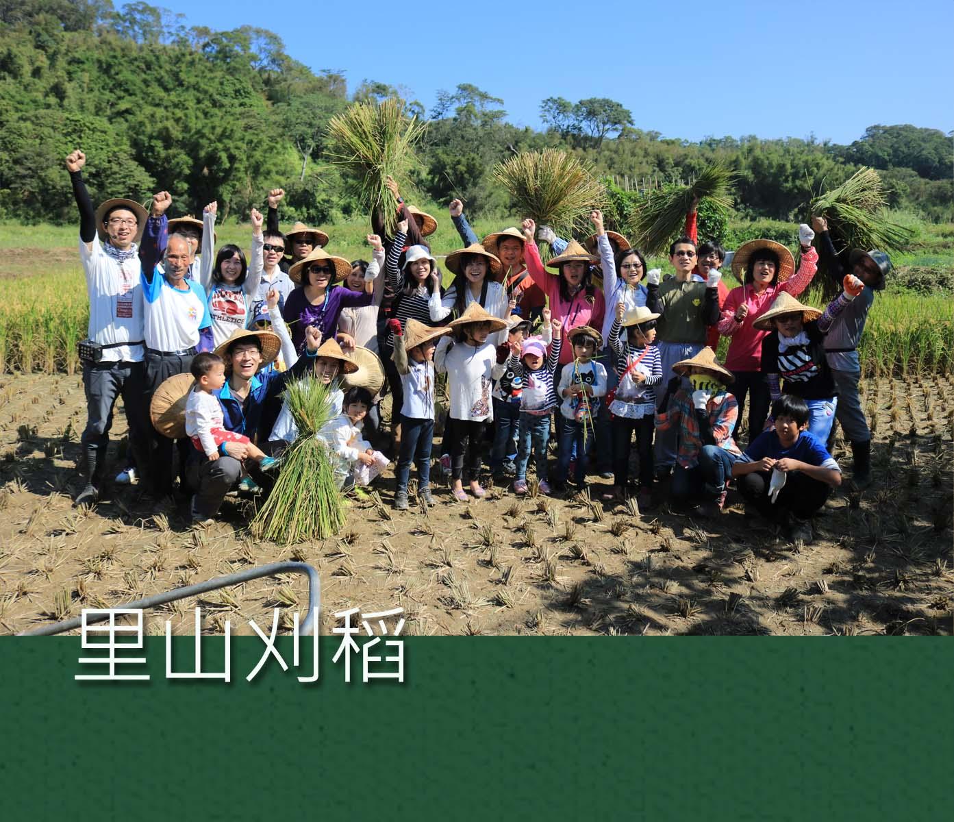 裡山體驗活動|里山刈稻 | 裡山塾